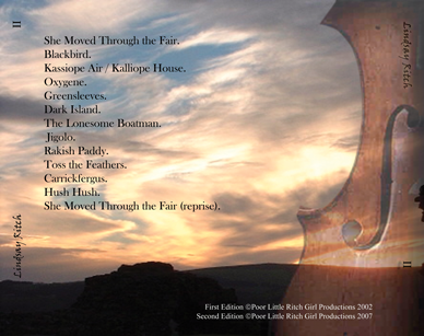 Lindsay Ritch, Album 2 Back Cover